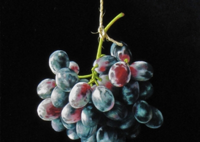 Hanging Grape Cluster