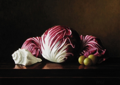 Radicchio, Suppernongs and Shell