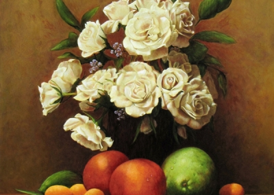 Roses and Fruit