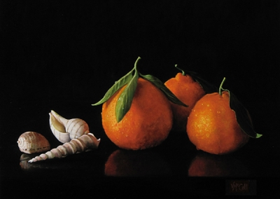 Satsuma Tangerines with Shells