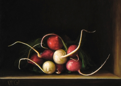 Radish Bunch - SOLD